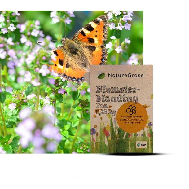Blomsterblanding - NatureGrass - 0,25 kg
